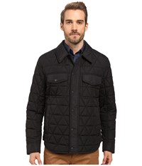 Marc New York Medford Poly Fill Shirt Jacket Black Men's Jacket