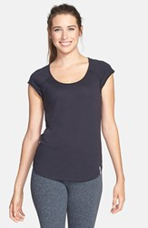 Women's Under Armour 'Fly By' Cutout Mesh Back Tee