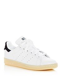 Adidas Stan Smith Winter Lace Up Sneakers White Navy