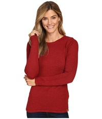 Fjall Raven Kiruna Knit Sweater Ox Red Women's Sweater Tan