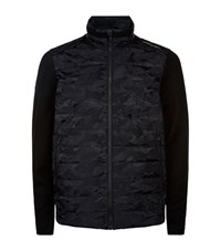 Porsche Design Camo Knit Sleeve Jacket Male Black