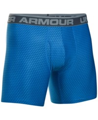 Under Armour Men's The Original Printed Boxer Briefs Blue Steel