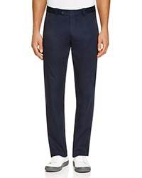 The Men's Store At Bloomingdale's Cotton Regular Fit Pants True Navy