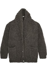 Mes Demoiselles Watford Knitted Cardigan Charcoal
