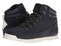 The North Face Back To Berkeley Redux Leather Midnight Men's Hiking Boots Navy