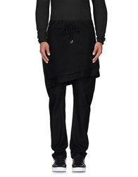 D.Gnak By Kang.D Trousers Casual Trousers Men Black