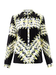 Erdem Cecilia Tweed Print Blouse