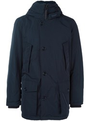 Woolrich Padded Parka Blue