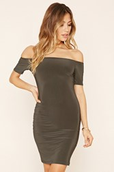 Forever 21 Off The Shoulder Bodycon Dress