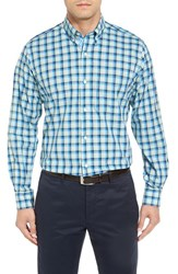 Tailorbyrd Men's Big And Tall Ithaca Falls Regular Fit Check Sport Shirt