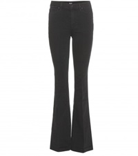 Paige Flared Jeans Black