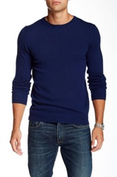 J. Lindeberg Crew Neck Kashmerino Sweater Blue