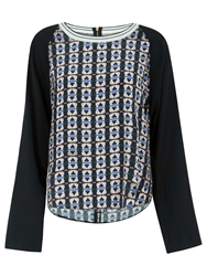 Closet Tribal Long Sleeve Top Multi