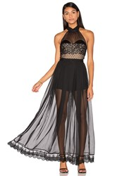 Three Floor Natural High Gown Black