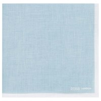 Reiss Yacht Piped Linen Pocket Square