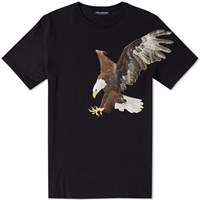 Neil Barrett Hawk Tee Black