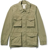 Remi Relief Wahed Cotton Blend Canva Field Jacket Army Green