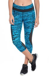 Lole Women's 'Run' Capris Electric Blue East Side