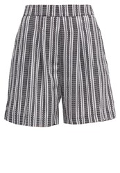 All About Eve Lodge Shorts Black White