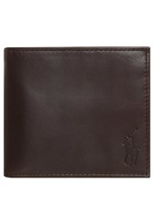 Polo Ralph Lauren Billfold Wallet Mahogany Brown