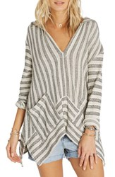 Billabong Women's Shadow Heart Stripe Hoodie