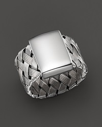 Roberto Coin Sterling Silver Woven Ring