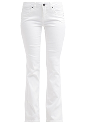 Edc By Esprit Bootcut Jeans Offwhite Off White