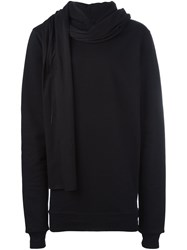 Unravel 'Terry Chaos' Hoodie Black