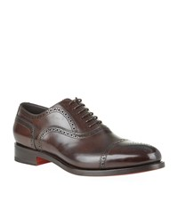 Santoni Oscar Oxford Lace Up Brogue Male