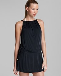 Cia.Maritima Cia. Maritima Drawstring Dress Swim Cover Up Black