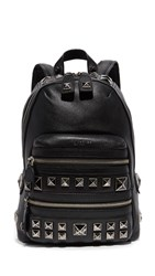 Marc Jacobs Chipped Stud Recruit Backpack Black