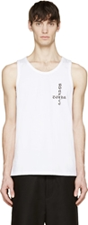 Surface To Air White Dressen Tank Top