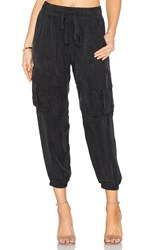 Calvin Rucker Peace Out Cargo Pant Black