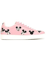 Moaconcept Mickey Mouse Sneakers Pink And Purple