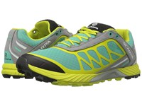 Scarpa Atom Lagoon Lime Women's Shoes Yellow