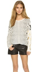 Sass And Bide Free Money Top Ivory