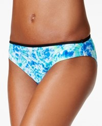 California Waves Carnival Tie Dyed Hipster Bikini Bottom Women's Swimsuit