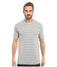 Publish Luther Knit Heather Men's Short Sleeve Pullover Gray