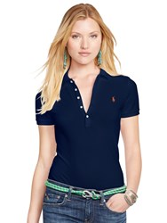 Polo Ralph Lauren Julie Skinny Fit Stretch Shirt Cruise Navy