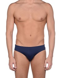 Gianfranco Ferre' Beachwear Bikini Bottoms Dark Blue
