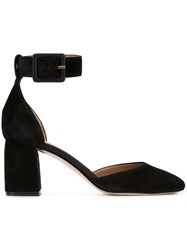 Red Valentino Ankle Strap Pumps Black