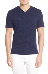 Men's Vince Camuto V Neck T Shirt Midnight Navy