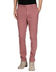 Hentsch Man Casual Pants Pastel Pink