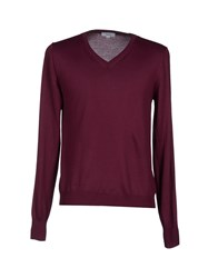 Liu Jo Jeans Knitwear Jumpers Men Deep Purple