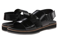 Calvin Klein Dex Black Box Leather Men's Sandals
