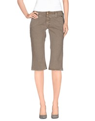 Cycle Denim Denim Bermudas Women Khaki
