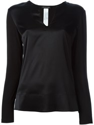 Twin Set Longsleeved Blouse Black