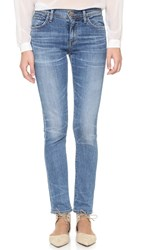 Gold Sign Jenny High Rise Slim Jeans Mirage