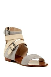 Australia Luxe Collective Peony Ankle Wrap Sandal Gray