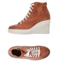 Ruco Line Footwear High Tops And Trainers Women Rust